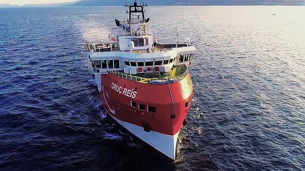 Türkisches Ölsuchschiff