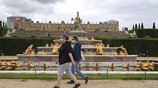 In den Gärten von Versailles (Juni 2020)