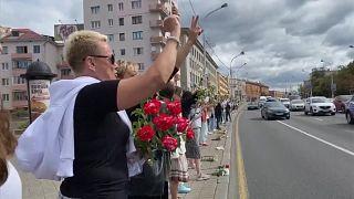 بالفيديو: استمرار المظاهرات في بيلاروس  لليوم الخامس