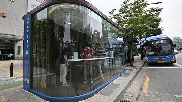 South Korea installs anti-virus bus