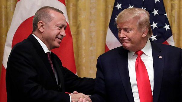 Türkiye Cumhurbaşkanı Erdoğan ve ABD Başkanı Trump