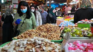 أحد أسواق العاصمة العراقية، بغداد.