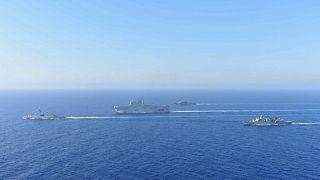 Морской спор: Греция ищет союзников