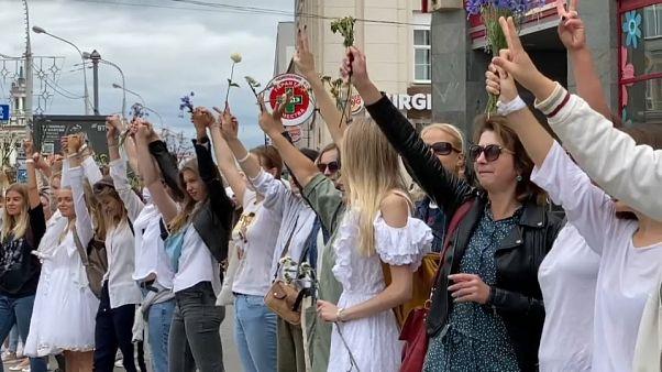 Женщины Беларуси выступают против насилия