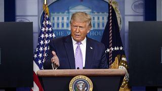 الرئيس الأمريكي دونالد ترامب في واشنطن