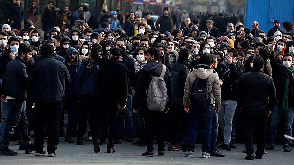 Iran'da protesto
