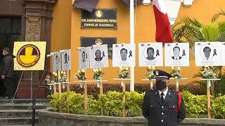 Homenaje al personal médico fallecido por el Covid-19 en Perú