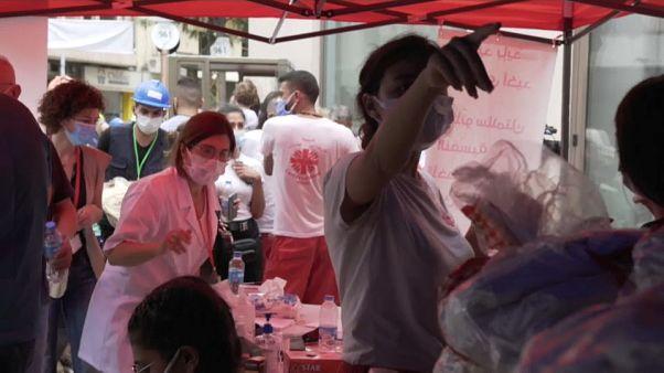 Aiuti umanitari in Libano