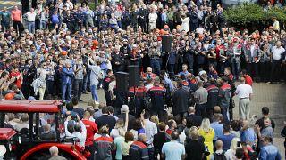 Ασφυκτική η πίεση από τις απεργίες εργατών στη Λευκορωσία