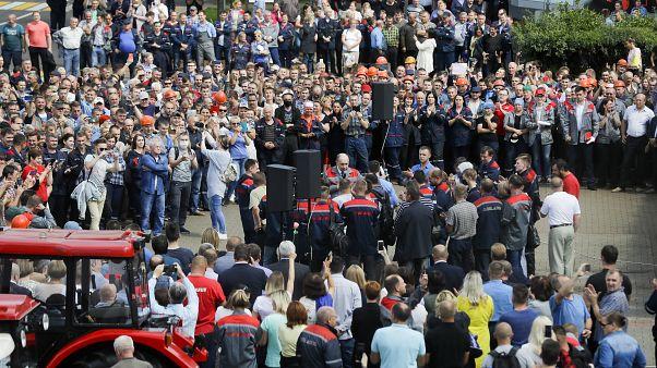 Bielorrusia hacia la huelga general