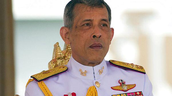 King Maha Vajiralongkorn in Bangkok im Mai 2017