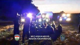 Schleuserkriminalität in Ungarn - Menschenschmuggel nimmt zu