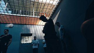 La cella di Claudio Locatelli, nelle prime ore di detenzione
