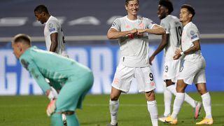 """Champions League: """"cappotto"""" Barcellona, straripante Bayern in semifinale"""