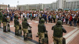 تشهد بيلاروس منذ 5 أيام احتجاجات مناوئة للوكاشنكو المقرب من الكرملين
