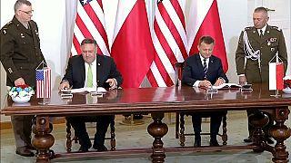 EUA estabelecem acordo de defesa com Polónia