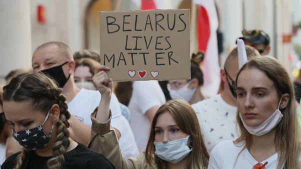 """""""Anche la vita della Bielorussia vale"""":"""