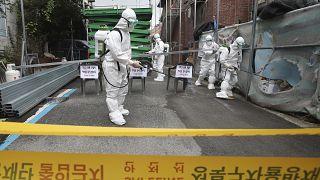 Güney Kore'de Covid-19 ile mücadele