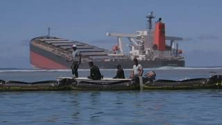 Mauritius: New oil leak from damaged ship