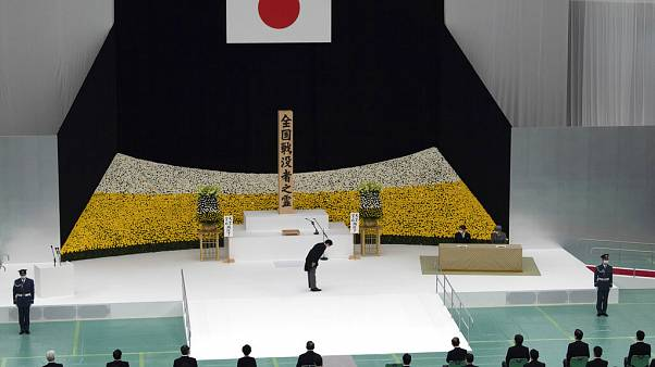 Tokio erinnert an das Ende des Zweiten Weltkrieges (15. August 2020)