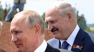 روسای جمهوری روسیه و بلاروس