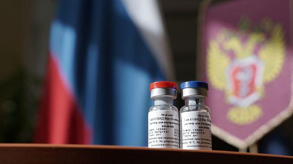 Rusya'nın ürettiği, 'Sputnik V' adlı Covid-19 aşısı
