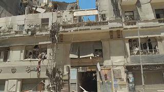 Cinq blessés dans l'effondrement partiel d'un bâtiment classé au Caire