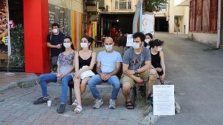 Özel tiyatro oyuncuları 30 Temmuz'dan bu yana 'susuyoruz' eyleminde