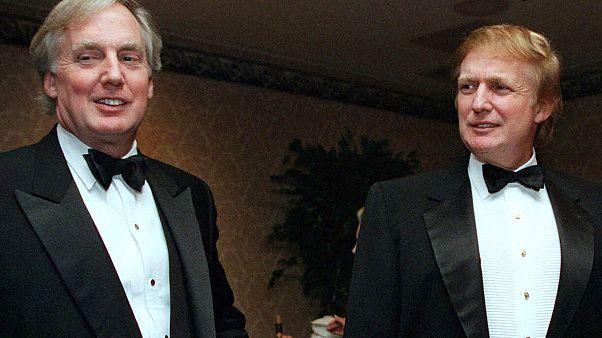 Donald Trump ve hayatını kaybeden kardeşi Robert Trump (solda)