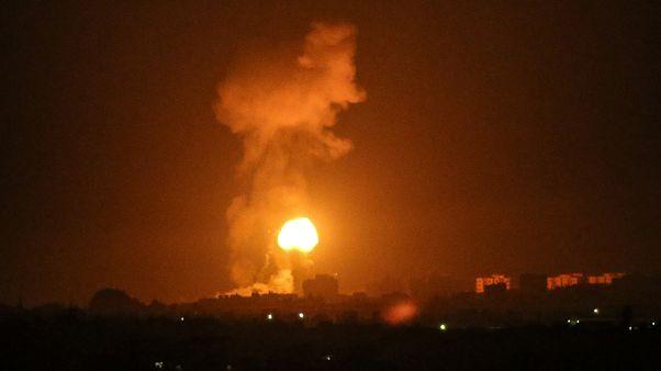 Nouvelles frappes d'Israël contre des positions du Hamas dans la bande de Gaza