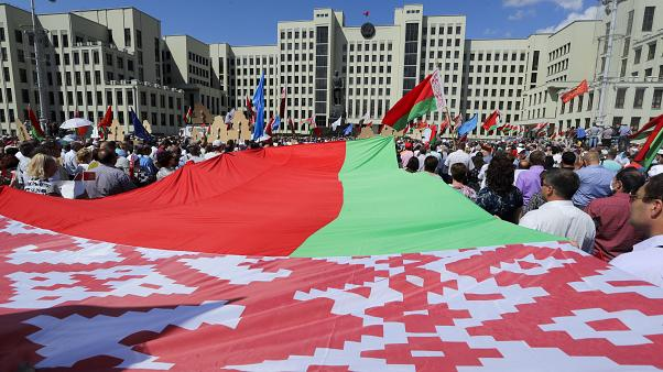 Demonstrationen in Minsk - Lukaschenko geht in die Offensive