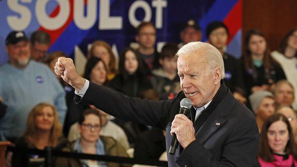 ABD'de Demokrat Parti'nin 2020 seçimlerinde başkan adayı Joe Biden
