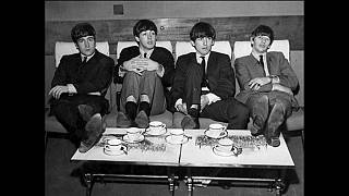 """""""The Beatles"""" in modalità relax."""