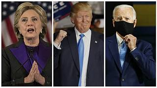 Hillary Clinton & Donald Trump & Joe Biden