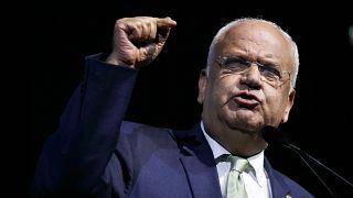 Filistin Kurtuluş Örgütü (FKÖ) Genel Sekreteri Saib Ureykat
