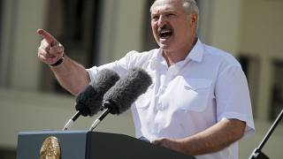 A Bielorrússia saiu à rua