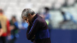 إقالة سيتيين من تدريب برشلونة