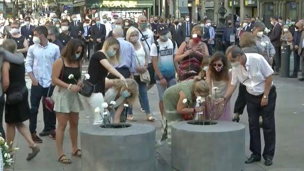 Homenaje a las víctimas del atentado yihadista