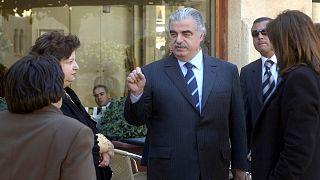 رئيس الحكومة اللبنانية الأسبق رفيق الحريري