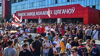 مظاهرات في بيلاروسيا