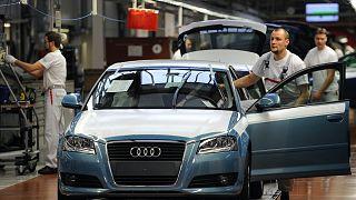 Az Audi ingolstadti gyára