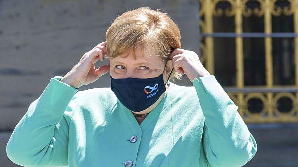 Angela Merkel im Juli