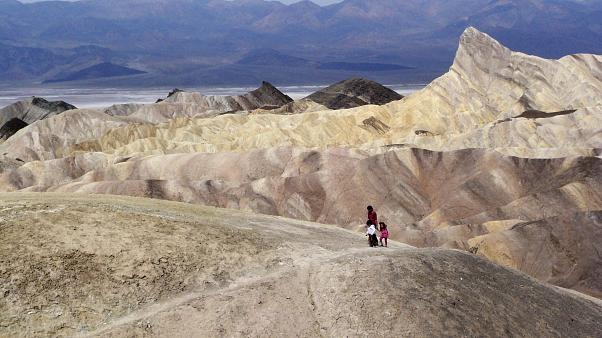 The temperature was recorded in California's Death Valley National Park, one of the hottest places on Earth