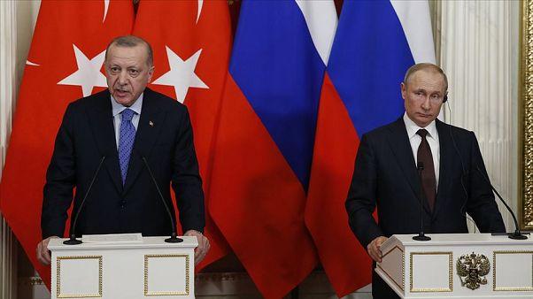 Türkiye Cumhurbaşkanı Recep Tayyip Erdoğan, Rusya Devlet Başkanı Vladimir Putin ile telefonda görüştü.
