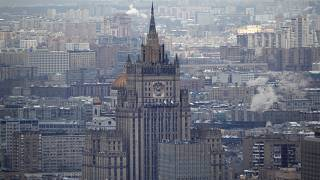 The diplomats have two weeks to leave Russia, the Foreign Ministry said.
