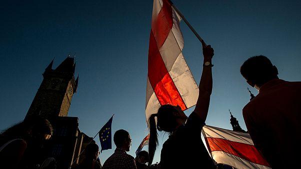 من المظاهرات في بلاروس ضد نتائج الانتخابات