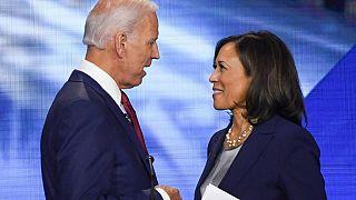 Joe Biden e Kamala Harris in corsa alle Presidenziali Usa
