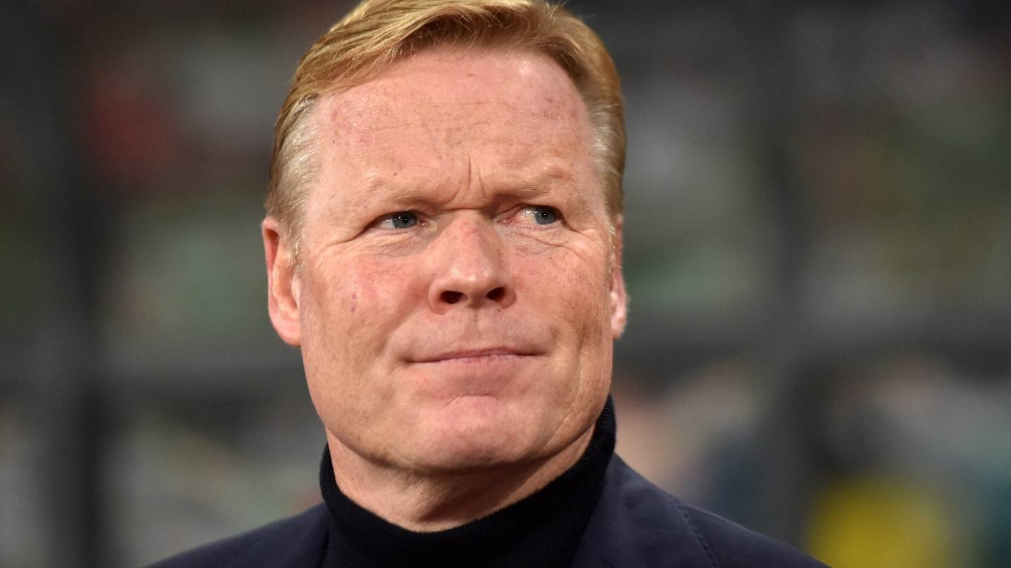 Ronald Koeman To Be Appointed New Manager Of Fc Barcelona Euronews