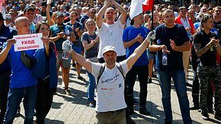 تظاهرات مخالفان دولت بلاروس