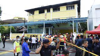 Malezya'nın başkenti Kuala Lumpur'da bir dini okulun yurdunda 2017'de yangın çıkmış 21 öğrenci ve iki öğretmen hayatını kaybetmişti